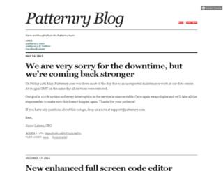 blog.patternry.com screenshot