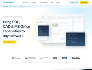 blog.pdftron.com screenshot