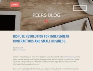 blog.peers.org screenshot