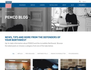 blog.pemco.com screenshot