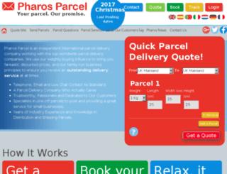blog.pharosparcel.com screenshot