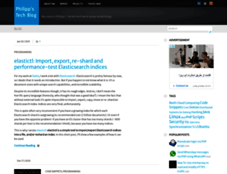 blog.philippheckel.com screenshot