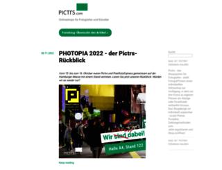 blog.pictrs.com screenshot