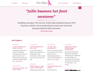 blog.pinkribbon.nl screenshot