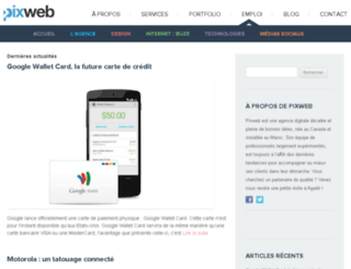 blog.pixweb.ma screenshot