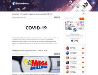 blog.playeurolotto.com screenshot