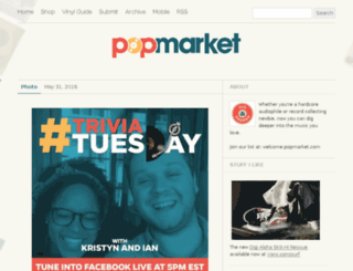 blog.popmarket.com screenshot