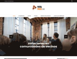 blog.portalfincas.com screenshot
