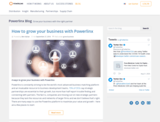 blog.powerlinx.com screenshot