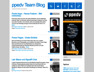 blog.ppedv.de screenshot