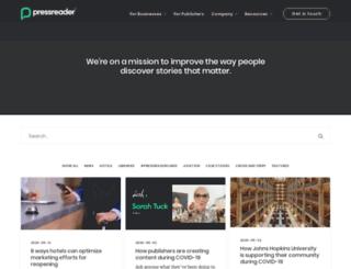 blog.pressdisplay.com screenshot