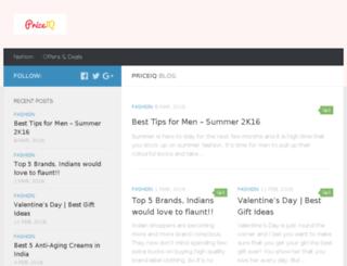 blog.priceiq.in screenshot