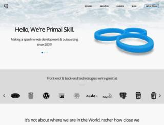 blog.primalskill.com screenshot