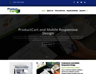 blog.productcart.com screenshot