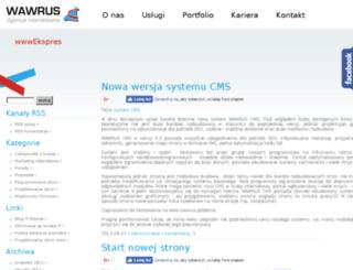 blog.projektowanie-stron.szczecin.pl screenshot