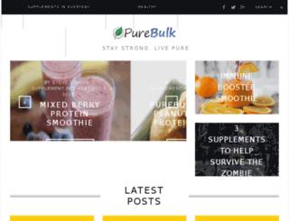 blog.purebulk.com screenshot