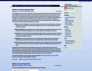 blog.qcdocs.com screenshot