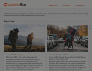 blog.qsc.de screenshot