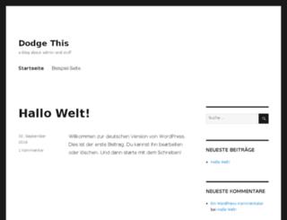 blog.quadspot.de screenshot