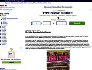 blog.qualitypointtech.com screenshot