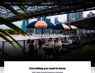 blog.queensland.com screenshot