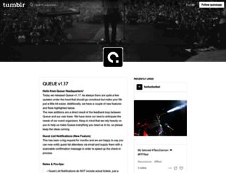 blog.queueapp.com screenshot
