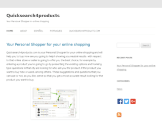 blog.quicksearch4products.com screenshot
