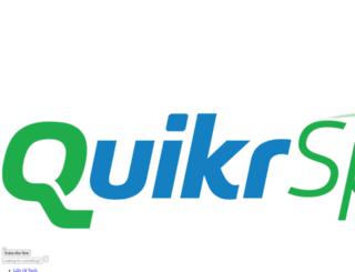 blog.quikr.com screenshot