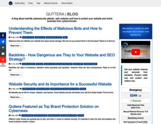 blog.quttera.com screenshot