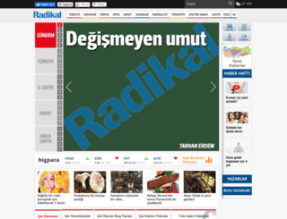 blog.radikal.com.tr screenshot