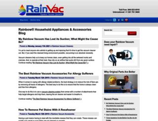 blog.rainvac.com screenshot