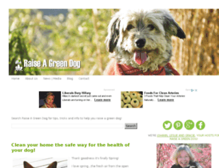 blog.raiseagreendog.com screenshot