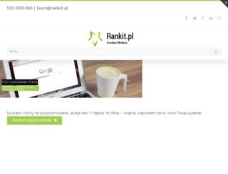 blog.rankit.pl screenshot