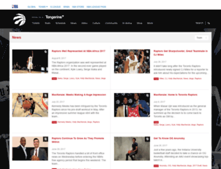 blog.raptors.com screenshot