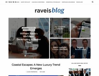 blog.raveis.com screenshot