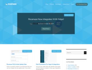 blog.reamaze.com screenshot