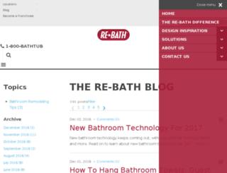 blog.rebath.com screenshot