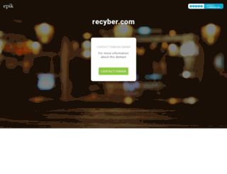 blog.recyber.com screenshot
