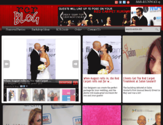 blog.redcarpetrunway.com screenshot