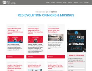blog.redevolution.com screenshot