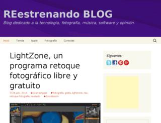 blog.reestrenando.es screenshot