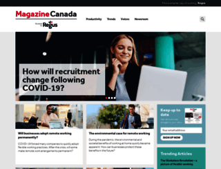 blog.regus.ca screenshot