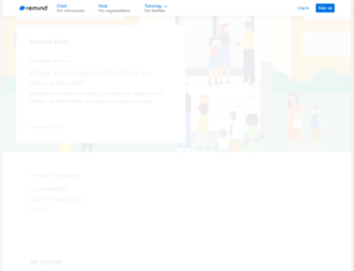 blog.remind.com screenshot