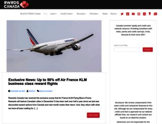 blog.rewardscanada.ca screenshot