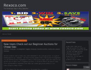 blog.rexoco.com screenshot