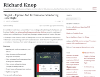 blog.richardknop.com screenshot