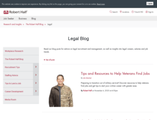 blog.roberthalflegal.com screenshot