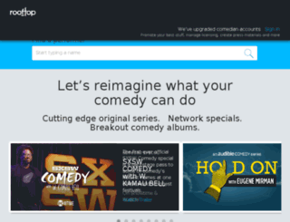 blog.rooftopcomedy.com screenshot