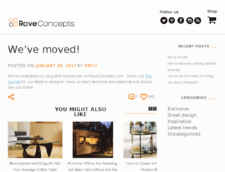 blog.roveconcepts.com screenshot