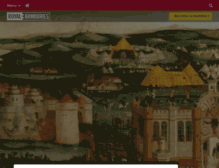 blog.royalarmouries.org screenshot